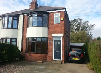 Thumbnail 3 bed semi-detached house to rent in Station Road, Burstwick
