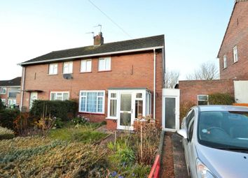 Thumbnail 2 bed semi-detached house to rent in Headland Crescent, Whipton, Exeter, Devon