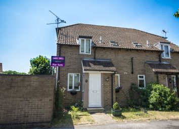 Thumbnail 1 bed end terrace house for sale in Selsey Way, Reading