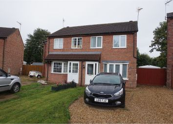 Thumbnail 3 bed semi-detached house to rent in Sandhurst Crescent, Sleaford