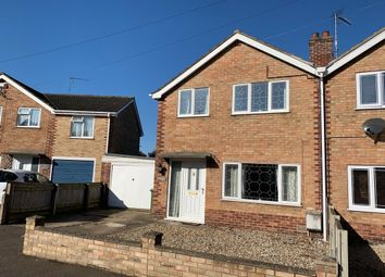 Thumbnail 3 bed semi-detached house for sale in Lea Way, King's Lynn