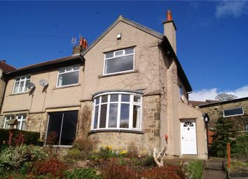 Thumbnail 3 bed semi-detached house to rent in Westfield Crescent, Keighley, Riddlesden, West Yorkshire