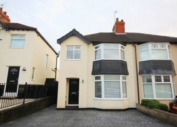 Thumbnail 3 bed semi-detached house for sale in Linkstor Road, Woolton, Liverpool