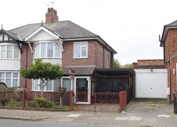 Thumbnail 3 bed semi-detached house to rent in Sandringham Avenue, Belgrave, Leicester