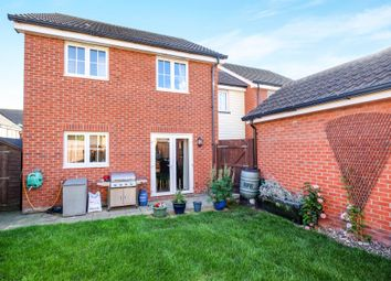 Thumbnail 3 bed link-detached house for sale in Jacksnipe Close, Stowmarket