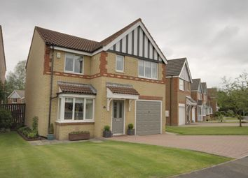 Thumbnail 4 bed detached house for sale in Balmoral Grove, Consett