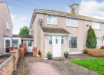 Thumbnail 4 bed semi-detached house for sale in Mercian Way, Cippenham