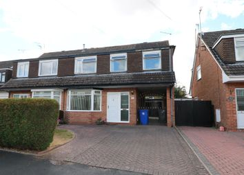 Thumbnail 4 bed semi-detached house for sale in Hazeldene Road, Trentham, Stoke-On-Trent