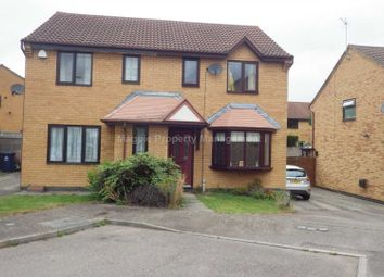 Thumbnail 3 bedroom semi-detached house to rent in Skeggles Close, Huntingdon