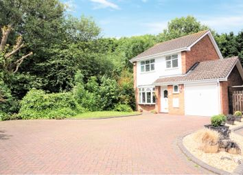 Thumbnail 3 bed detached house for sale in Jackson Close, Tipton
