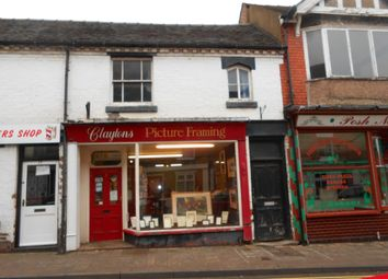 Thumbnail Commercial property for sale in Clayton's Picture Framing, 15B Stafford Street, Market Drayton