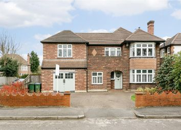 Thumbnail 5 bed detached house for sale in Southmont Road, Esher