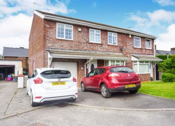 Thumbnail 4 bedroom semi-detached house for sale in Picketston Close, St Athan