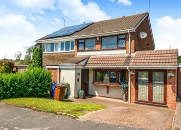 Thumbnail 3 bed semi-detached house for sale in Laurel Drive, Hednesford, Cannock, Staffordshire