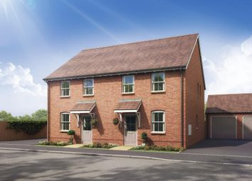 """Thumbnail 3 bed semi-detached house for sale in """"Oakfield"""" at Stockton Road, Long Itchington, Southam"""