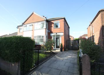 Thumbnail 3 bedroom property for sale in Bradwell Avenue, Stretford, Manchester