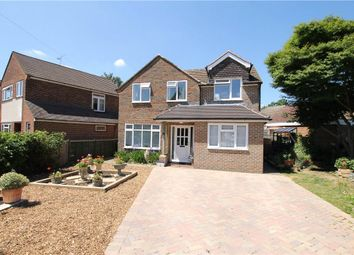 Thumbnail 4 bed detached house for sale in Five Oaks Close, Woking, Surrey