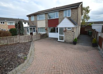 Thumbnail 3 bed semi-detached house for sale in Gibson Drive, Leeds, West Yorkshire