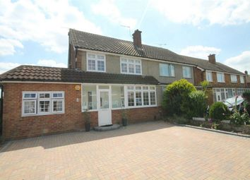 Thumbnail 4 bed semi-detached house for sale in Lynegrove Avenue, Ashford, Surrey
