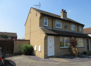 Thumbnail 2 bed property to rent in Tay Close, St. Ives, Huntingdon
