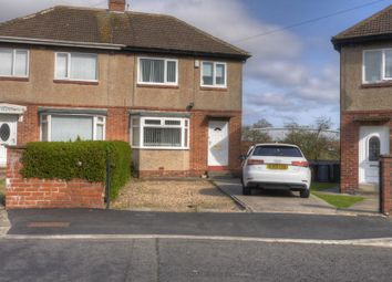 Thumbnail 3 bed semi-detached house for sale in Hillhead Drive, West Denton, Newcastle Upon Tyne