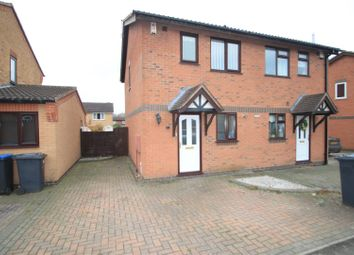 Thumbnail 2 bed semi-detached house to rent in Kinross Way, Hinckley