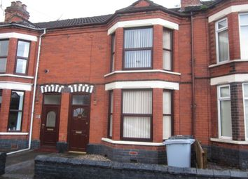 Thumbnail 3 bedroom terraced house to rent in Hungerford Road, Crewe