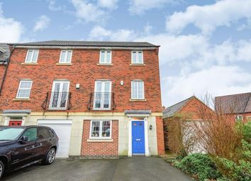 Thumbnail 4 bed end terrace house for sale in Westminster Drive, Church Gresley, Swadlincote, Derbyshire