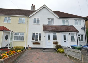 Thumbnail 2 bed terraced house to rent in Gilders Road, Chessington, Surrey.