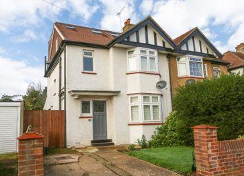 Thumbnail 4 bed semi-detached house for sale in Princes Avenue, Surbiton, Surrey