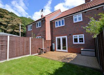 Thumbnail 3 bed terraced house for sale in Hall Close, Heacham, King's Lynn, Norfolk.