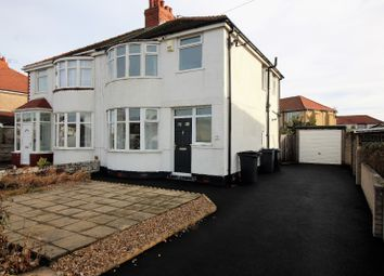 Thumbnail 3 bed semi-detached house to rent in Gloucester Avenue, Thornton-Cleveleys