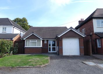 Thumbnail 3 bed detached bungalow for sale in Lichfield Road, Four Oaks, Sutton Coldfield