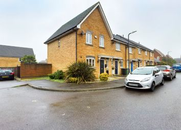 Lacock Gardens, Maidstone ME15. 3 bed end terrace house for sale