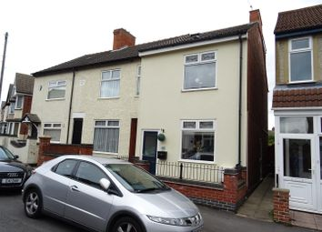 Thumbnail 4 bed end terrace house for sale in Crescent Road, Hugglescote, Leicestershire