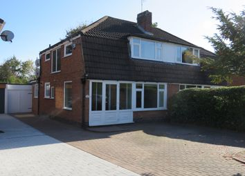 Thumbnail 3 bed semi-detached house for sale in Bronte Farm Road, Shirley, Solihull