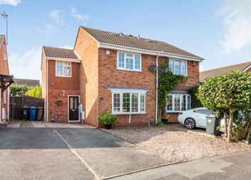 Thumbnail 3 bed semi-detached house for sale in Cornfield Drive, Lichfield, Staffordshire