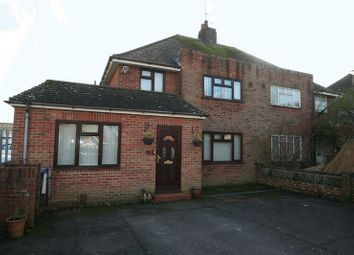 Thumbnail 4 bed semi-detached house for sale in Chesterfield Road, Goring-By-Sea, Worthing