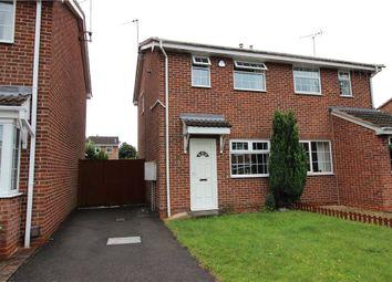 Thumbnail 2 bed semi-detached house for sale in Derrington Leys, Alvaston, Derby