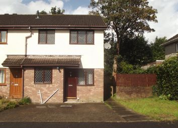 Thumbnail 1 bed end terrace house to rent in Willowturf Court.., Bryncethin