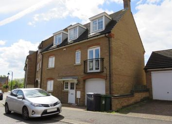 Thumbnail 4 bed end terrace house for sale in Lady Charlotte Road, Hampton Hargate, Peterborough