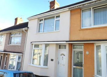 Thumbnail 2 bedroom terraced house for sale in Glenmore Avenue, Stoke, Plymouth