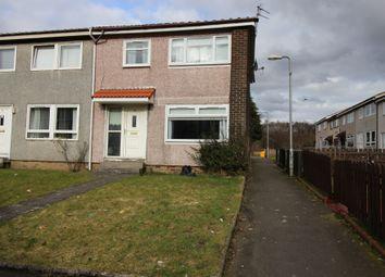 Thumbnail 3 bed end terrace house for sale in Dalveen Quadrant, Coatbridge, Lanarkshire