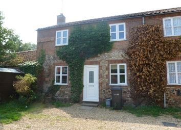 Thumbnail 2 bed semi-detached house to rent in The Green, Tottenhill, King's Lynn