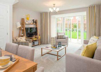 "Thumbnail 3 bed semi-detached house for sale in ""Norbury"" at Langaton Lane, Pinhoe, Exeter"