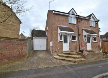 Thumbnail 2 bed semi-detached house for sale in Conifer Walk, Chells Manor, Stevenage, Herts