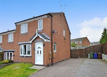 Thumbnail 3 bed semi-detached house for sale in Mill Crescent, Cannock, Staffordshire