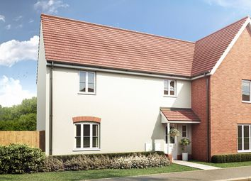 "Thumbnail 3 bed semi-detached house for sale in ""The Clarence "" at Carsons Drive, Great Cornard, Sudbury"