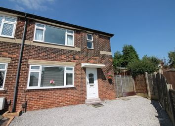 Thumbnail 3 bed semi-detached house for sale in Leyburn Avenue, Urmston, Manchester