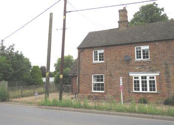 Thumbnail 3 bedroom semi-detached house for sale in East Farm Cottages, Nordelph, Downham Market